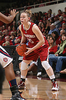 STANFORD, CA - JANUARY 30:  Lindy La Rocque of the Stanford Cardinal during Stanford's 83-62 win over Arizona on January 30, 2010 at Maples Pavilion in Stanford, California.
