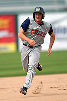 Outfielder Clete Thomas of the Toledo Mud Hens during a game versus the Pawtucket Red Sox on May 3, 2011 at McCoy Stadium in Pawtucket, Rhode Island. Photo by Ken Babbitt /Four Seam Images