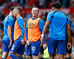 Wayne Rooney of Everton warms up before the premier league match at the Old Trafford Stadium, Manchester. Picture date 17th September 2017. Picture credit should read: Simon Bellis/Sportimage