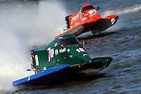 Mark Johnson (#18) and Chris Fairchild (#62)   (Formula 1/F1/Champ class)