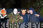 Pictured at the Halloween Festival in Knocknagoshel on Sunday night were L-R: Declan O'Brien, Nick Barrett and Willie Welsh, Knocknagoshel.