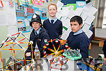 A showcase  on Britain by students of CURROW NS Adam Healy, Brian Roche and Kieran Prenderville part of European Flag project on Thursday