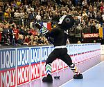 11.01.2019, Mercedes Benz Arena, Berlin, GER, BRA vs. FRA, im Bild <br /> Maskottchen<br /> <br />      <br /> Foto &copy; nordphoto / Engler