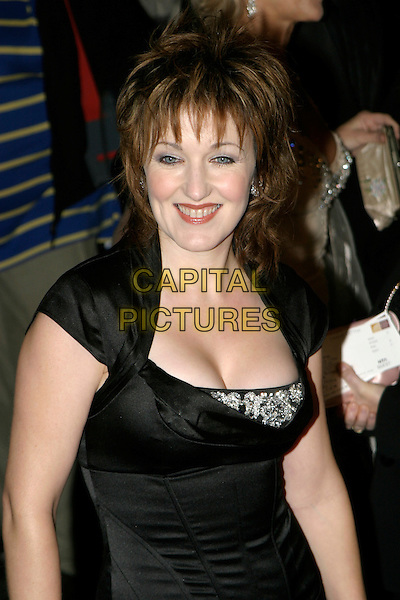 CASEY AINSWORTH.National Television Awards 2005 at the Royal Albert Hall, SW7, London, UK..October 25th, 2005.Ref: AH.headshot portrait cleavage.www.capitalpictures.com.sales@capitalpictures.com.© Capital Pictures.