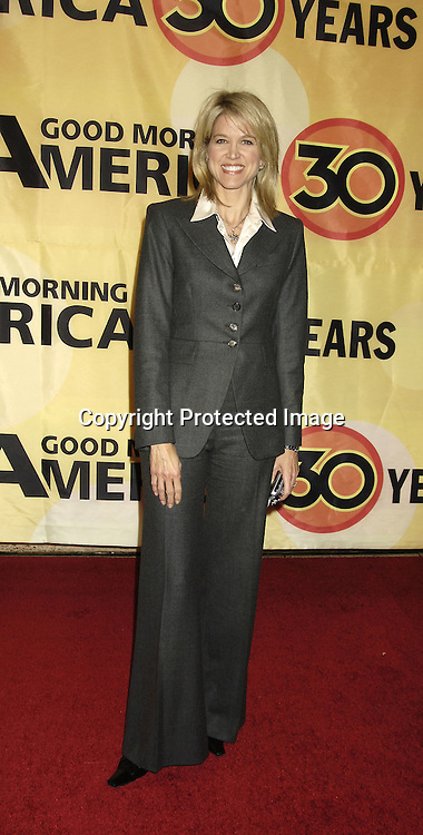 Paula Zahn ..at the 30th Anniversary Celebration of Good Morning America on October 25, 2005 at Avery Fisher Hall ...Photo by Robin Platzer, Twin Images