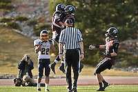 DENVER, CO - NOVEMBER 1:   during the Colorado 3A state football championship game Between Silver Creek and Rifle at Legacy Stadium on December 1, 2012 in Aurora, Colorado. (Photo by Dustin Bradford) *** Local Caption ***