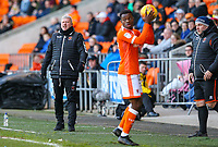 Blackpool's manager Terry McPhillips shouts instructions to his team from the technical area<br /> <br /> Photographer Alex Dodd/CameraSport<br /> <br /> The EFL Sky Bet League One - Blackpool v Sunderland - Tuesday 1st January 2019 - Bloomfield Road - Blackpool<br /> <br /> World Copyright © 2019 CameraSport. All rights reserved. 43 Linden Ave. Countesthorpe. Leicester. England. LE8 5PG - Tel: +44 (0) 116 277 4147 - admin@camerasport.com - www.camerasport.com