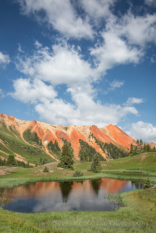 Gray Copper Gulch landscape