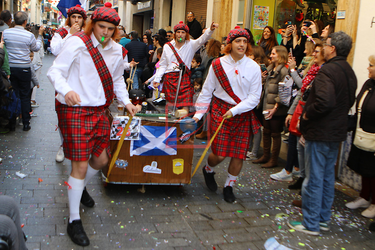 Carnaval de Sitges.<br /> Cursa de Llits.