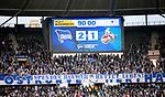 14.04.2018, OLympiastadion, Berlin, GER, 1.FBL, Hertha BSC VS. 1.FC Koeln, im Bild <br /> Endergebnis, Anzeigentafel<br /> <br /> <br />       <br /> Foto &copy; nordphoto / Engler