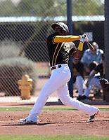 Allen Cordoba - San Diego Padres 2020 spring training (Bill Mitchell)