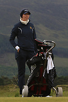 Gioia Carpinelli (SWI) on the 2nd tee during Round 2 of the Women's Amateur Championship at Royal County Down Golf Club in Newcastle Co. Down on Wednesday 12th June 2019.<br /> Picture:  Thos Caffrey / www.golffile.ie