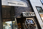 Herve Leger and Paolo Bongia on Rodeo Drive, Beverly Hills, CA