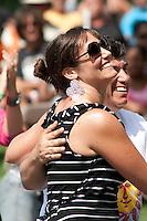Impromptu Salsa Dancing at Sunfest
