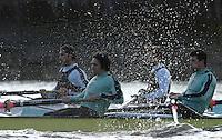PUTNEY, LONDON, ENGLAND, 05.03.2006, CUBC; Cambridge vs Molesey BC,  [right] No.7 Tom James; stroke Kip McDaniel  Pre 2006 Boat Race Fixtures,.   © Peter Spurrier/Intersport-images.com[Mandatory Credit Peter Spurrier/ Intersport Images] Varsity Boat Race, Rowing Course: River Thames, Championship course, Putney to Mortlake 4.25 Miles