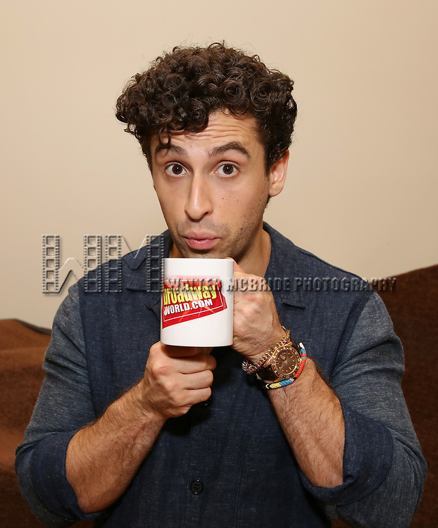 Brandon Uranowitz attends the Meet & Greet for the Manhattan Theatre Club's Broadway Premiere of 'Prince of Broadway' at the MTC Studios on July 20, 2017 in New York City.
