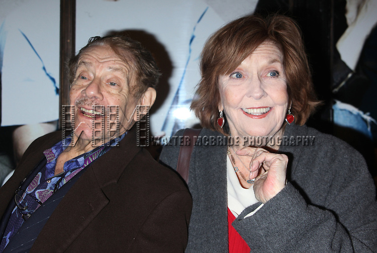 "Jerry Stiller & Anne Meara<br /> arriving the the Broadway Opening Night performance of ""Next Fall""  at the Helen Hayes Theatre in New York City.<br /> March 11, 2010"