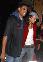 New York City<br /> 2003 <br /> ALLAN HOUSTON AND PETRA NEMCOVA<br /> Photo By John Barrett-PHOTOlink.net/MediaPunch