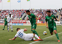 Chester, PA - Monday May 28, 2018: Eric Lichaj during an international friendly match between the men's national teams of the United States (USA) and Bolivia (BOL) at Talen Energy Stadium.