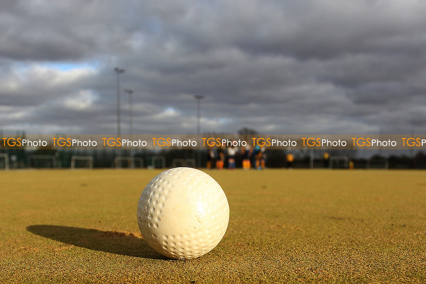 during Romford HC vs Harlow HC, East Region League Field Hockey at the Robert Clack Leisure Centre on 3rd December 2016