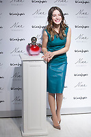 Maria Valverde poses during the Nina Ricci perfume presentation in Madrid, Spain. December 11, 2014. (ALTERPHOTOS/Victor Blanco) /NortePhoto