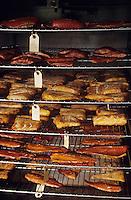 USA/Etats-Unis/Alaska/Gustavus : Fumerie de saumon artisanale - Les fumoirs