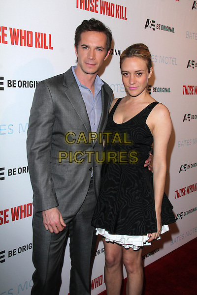 HOLLYWOOD, CA - February 26: James D'Arcy, Chloe Sevigny at A&amp;E's &quot;Bates Motel&quot; and &quot;Those Who Kill&quot; Premiere Party, Warwick, Hollywood,  February 26, 2014. <br /> CAP/MPI/JO<br /> &copy;JO/MPI/Capital Pictures