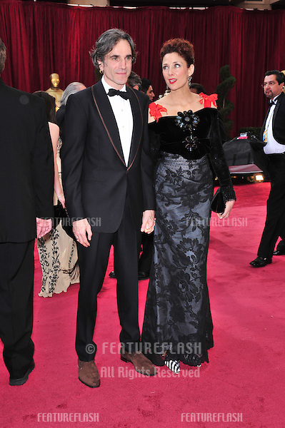 Daniel Day-Lewis & Rebecca Miller at the 80th Annual Academy Awards at the Kodak Theatre, Hollywood, CA..February 24, 2008 Los Angeles, CA.Picture: Paul Smith / Featureflash