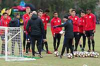 USMNT U-20 Training, January 18, 2017