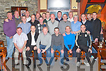 PARK REUNION:Having a great time at the APPU St. Brendan's Park FC Reunion in the Castle Bar, Tralee on Thursday seated l-r: Joe Hennebery, Richie Greer, Danny Diggins, Mike McCannon, Peader Dunworth, Owen Móynihan. Centre l-r: Paudie Barrett, Verners Tess, Josh white, Christy Leahy, Michael Duggan, Johnny Conway, Seán O'Callaghan, Liam Martin. Back l-r: David Doyle, Frank O'Donnell, Michael 'Chips' Clifford, Tom Foley, David White, Colm McLoughlin, Tony McLoughlin, Damien McLoughlin, Tom Nix..