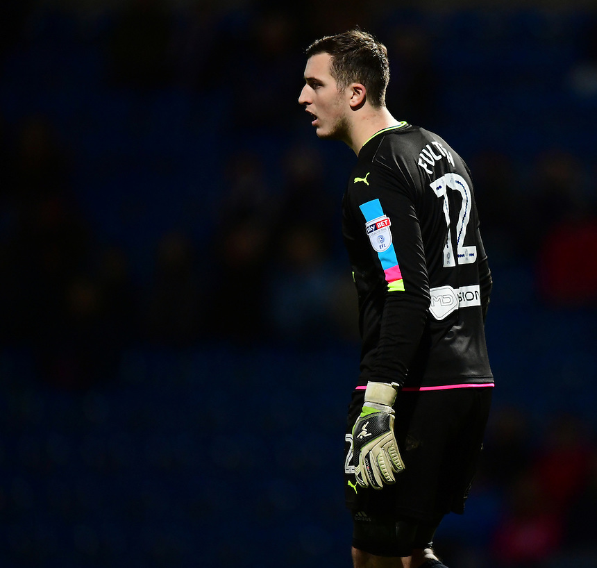 Chesterfield's Ryan Fulton<br /> <br /> Photographer Chris Vaughan/CameraSport<br /> <br /> The Emirates FA Cup Second Round - Chesterfield v Wycombe Wanderers - Saturday 3rd December 2016 - Proact Stadium - Chesterfield<br />  <br /> World Copyright &copy; 2016 CameraSport. All rights reserved. 43 Linden Ave. Countesthorpe. Leicester. England. LE8 5PG - Tel: +44 (0) 116 277 4147 - admin@camerasport.com - www.camerasport.com