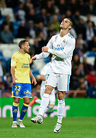 Real Madrid's Cristiano Ronaldo and UD Las Palmas'  during La Liga match. November 5,2017. (ALTERPHOTOS/Inma Garcia)