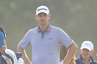Justin Rose (ENG) on the 9th tee during Friday's Round 2 of the 118th U.S. Open Championship 2018, held at Shinnecock Hills Club, Southampton, New Jersey, USA. 15th June 2018.<br /> Picture: Eoin Clarke | Golffile<br /> <br /> <br /> All photos usage must carry mandatory copyright credit (&copy; Golffile | Eoin Clarke)