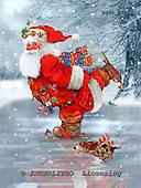 GIORDANO, CHRISTMAS SANTA, SNOWMAN, WEIHNACHTSMÄNNER, SCHNEEMÄNNER, PAPÁ NOEL, MUÑECOS DE NIEVE, paintings+++++,USGI1708M,#X#