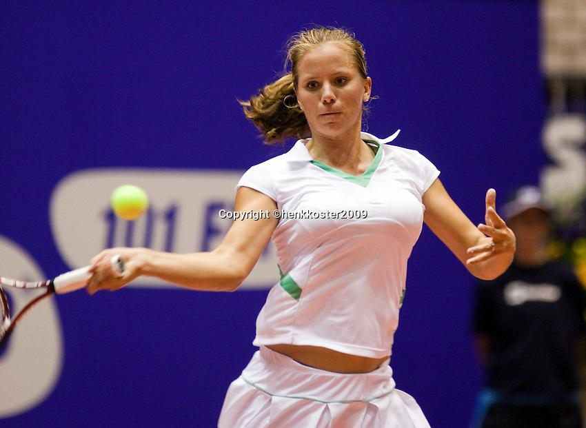 11-12-09, Rotterdam, Tennis, REAAL Tennis Masters 2009,   Nicolette van Uitert