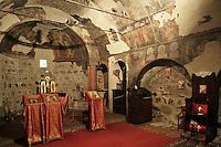 BG11135.JPG BULGARIA, SOFIA, ST. PETKA SAMARDZHIISKA CHURCH, 14TH C., frescoes