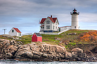"Cape Neddick ""Nubble Light"", located in York, Maine"