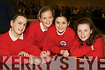 Pictured at the Tralee Credit Union Schools Quiz Brandon hotel on Sunday were Katie Twomey, Erin Fitzgibbon, Victoria Keane and Katie Raftery from Derryquay School.