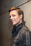 Ward Horton photo shoot at the Hayes Theatre on October 30, 2018 in New York City.
