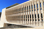 New Parliament Building designed by Renzo Piano, Valletta, Malta completed 2015