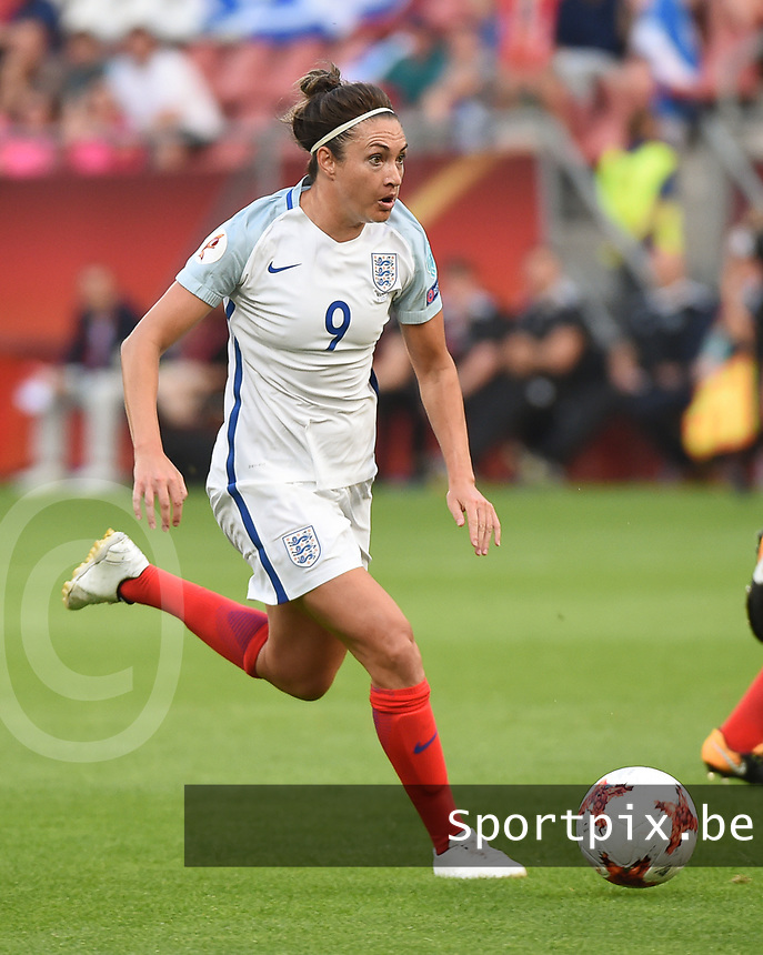 20170719 - UTRECHT , NETHERLANDS : English Jodie Taylor pictured during the female soccer game between England and Scotland  , the frist game in group D at the Women's Euro 2017 , European Championship in The Netherlands 2017 , Wednesday 19 th June 2017 at Stadion De Galgenwaard  in Utrecht , The Netherlands PHOTO SPORTPIX.BE | DIRK VUYLSTEKE