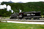 AK: Skagway, Alaska, White Pass Yukon Railroad     .Photo Copyright: Lee Foster, lee@fostertravel.com, www.fostertravel.com, (510) 549-2202.Image: akklon210