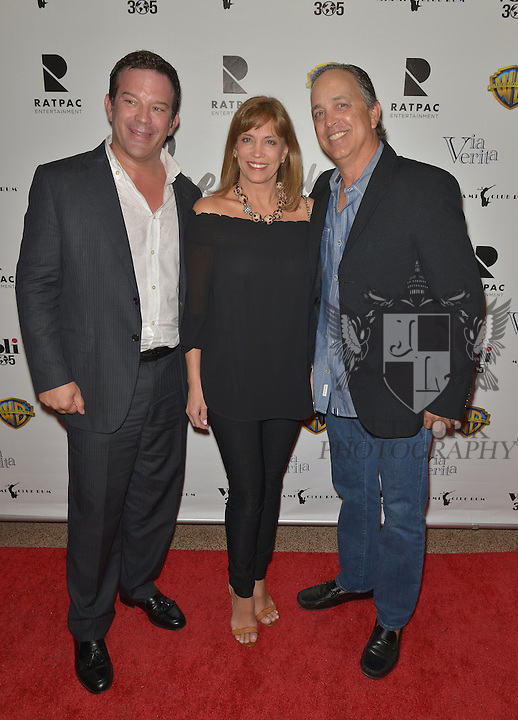 CORAL GABLES, FL - FEBRUARY 28: Victor Barroso, Anabelle Rodriguez Capiro and Ricardo Rodriguez attend the Miami Premiere of RatPac Documentary Films One Day Since Yesterday: Peter Bogdanovich and the Lost American Film' followed by Q&A at Miracle Theater inside the Actors Playhouse on February 28, 2017 in Coral Gables, Florida. ( Photo by Johnny Louis / jlnphotography.com )