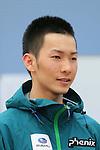 Taku Hiraoka, APRIL 21, 2013 : The Building up Team Japan 2013 for Sochi at Ajinomoto NTC, Tokyo, Japan. (Photo by AFLO SPORT)