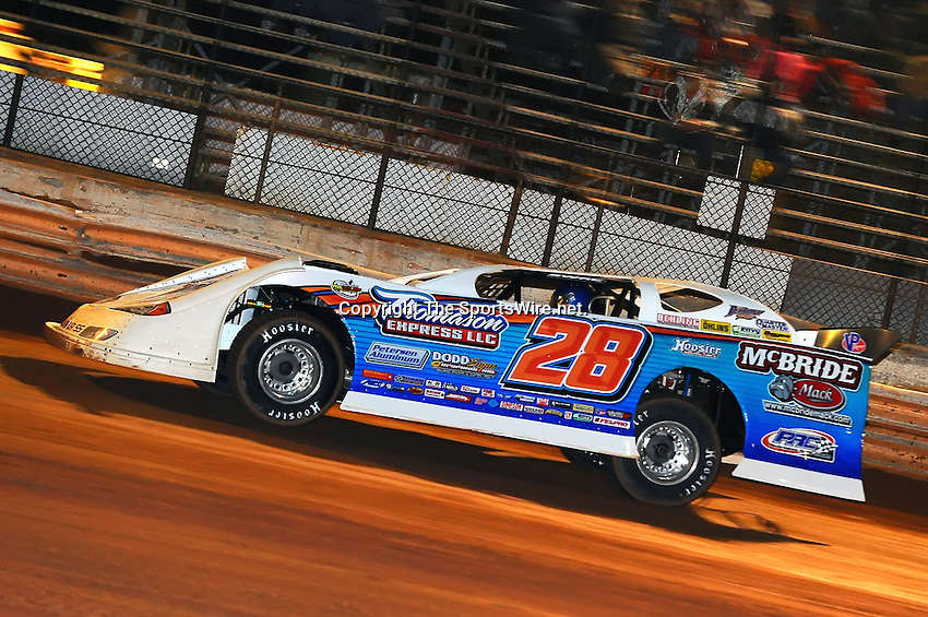 Jan 28, 2010; 7:51:11 PM; Waynesville, GA., USA; The Southern All Stars Racing Series running The Super Bowl of Racing VI at Golden Isles Speedway.  Mandatory Credit: (thesportswire.net)