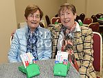 Sheila Devin and Delores Munster at the official opening of the new Associated Bridge Clubs of Drogheda (ABCD) headquaters on the Fair Green. Photo:Colin Bell/pressphotos.ie