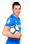 Getafe CF's Nicolas Gorosito during the session of the official photos for the 2017/2018 season. September 19,2017. (ALTERPHOTOS/Acero)
