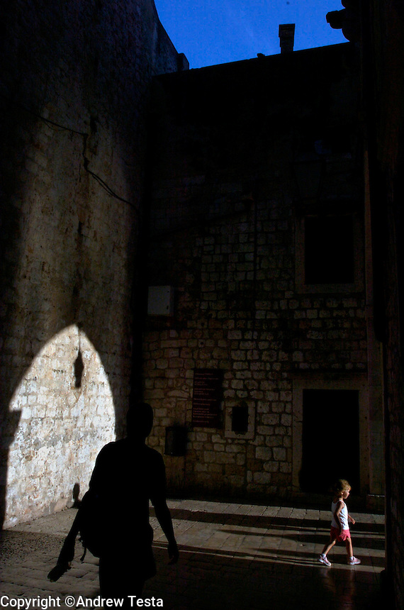 CROATIA. Dubrovnik. August 2004..Old Town..©Andrew Testa for the New York Times