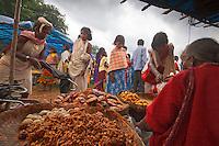 Dongaria kondh woman  at weekly Chatikana market in Orissa India
