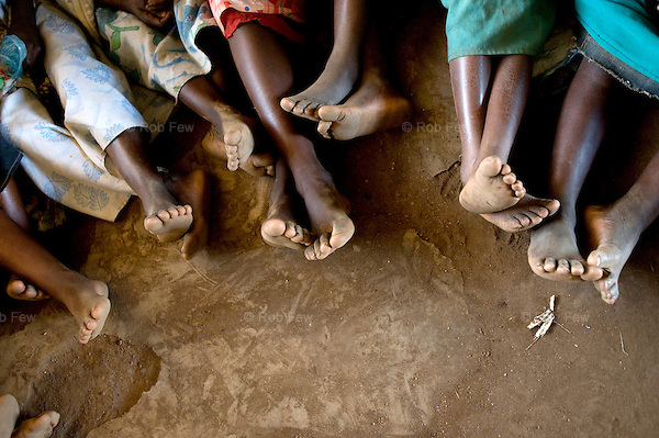 The furniture is especially important for girls. In Malawian schools, you have to stand up to speak in class. In the past, teenage girls, dressed in ragged skirts and worried about their modesty, would sit silently on the floor throughout lessons. Now they stand up and make themselves heard as much as the boys.  <br /> <br /> Life has been transformed at Mchuchu primary school near the capital of Malawi, thanks to help from UNICEF, which is working with schools across the country.